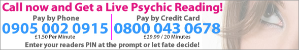 Call now for a live tarot reading and psychic reading